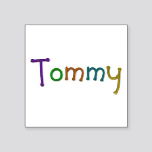 Tommy Play Clay Square Sticker