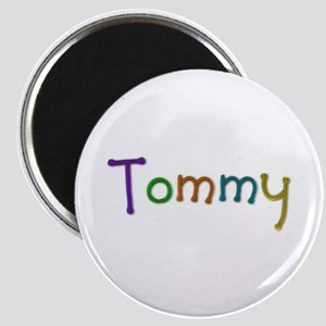 Tommy Play Clay Round Magnet