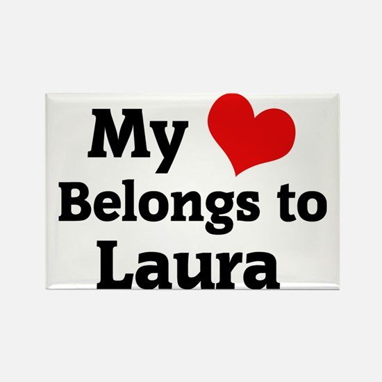 Laura Rectangle Magnet