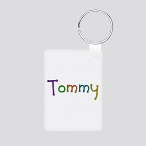 Tommy Play Clay Aluminum Keychain