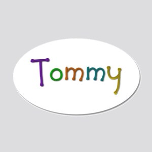 Tommy Play Clay 20x12 Oval Wall Decal