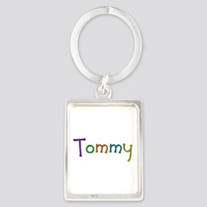 Tommy Play Clay Portrait Keychain