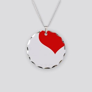 MUSIC Necklace Circle Charm