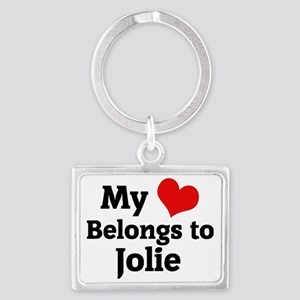 Jolie Landscape Keychain