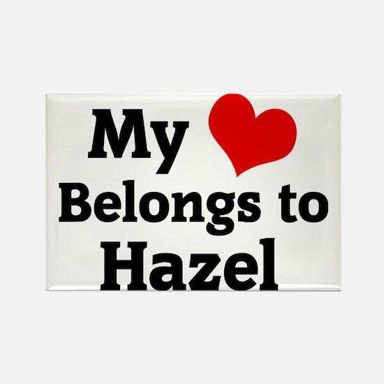 Hazel Rectangle Magnet