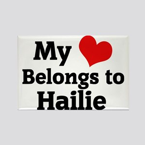 Hailie Rectangle Magnet
