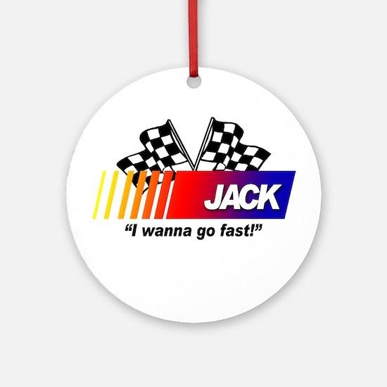 Racing - Jack Ornament (Round)