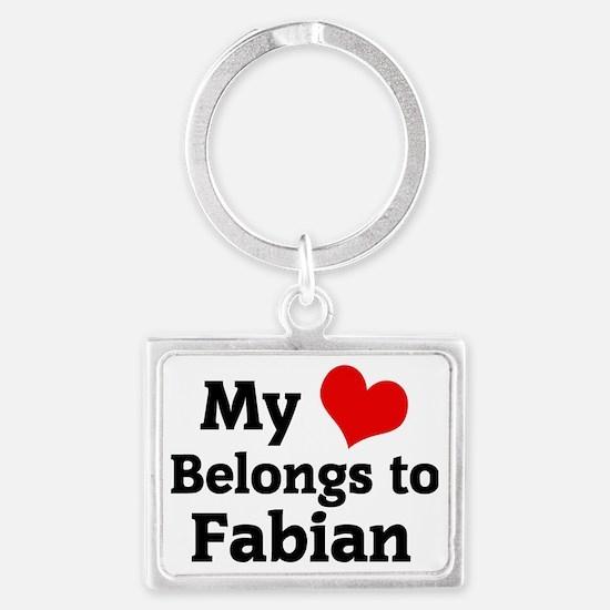 Fabian Landscape Keychain