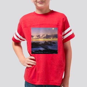 Seascape in Azores Youth Football Shirt