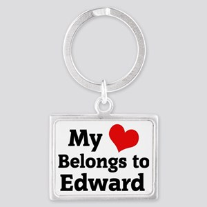 Edward Landscape Keychain