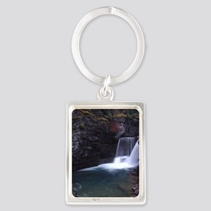 Glacier National Park Portrait Keychain