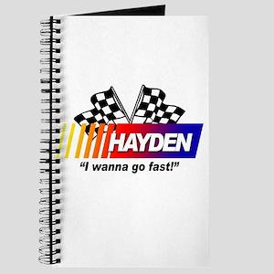 Racing - Hayden Journal