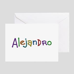 Alejandro Play Clay Greeting Card
