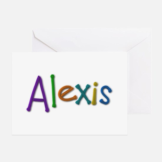 Alexis Play Clay Greeting Card