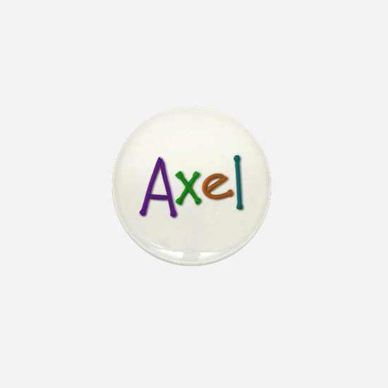 Axel Play Clay Mini Button