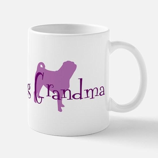 Pug Grandma Mug