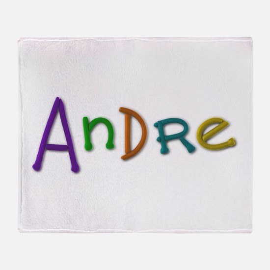 Andre Play Clay Throw Blanket