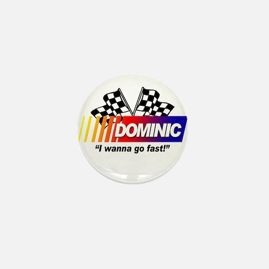 Racing - Dominic Mini Button