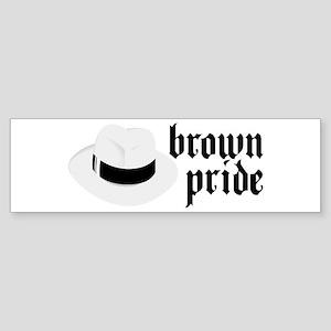 Brown Pride Bumper Sticker