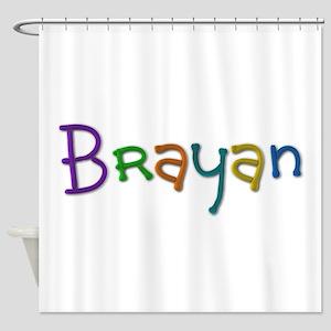 Brayan Play Clay Shower Curtain