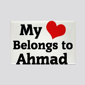 Ahmad Rectangle Magnet