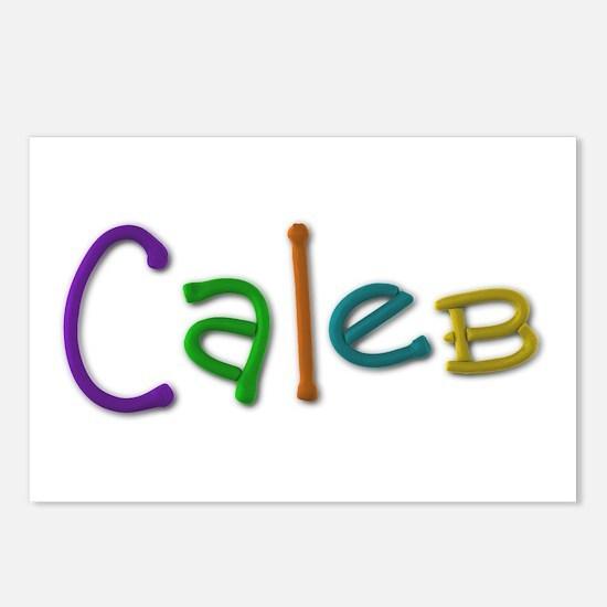 Caleb Play Clay Postcards 8 Pack