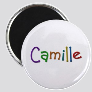 Camille Play Clay Round Magnet