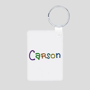 Carson Play Clay Aluminum Keychain