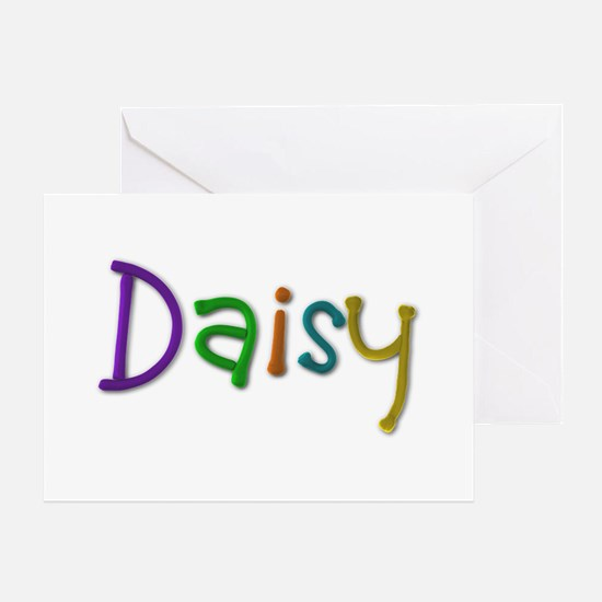 Daisy Play Clay Greeting Card