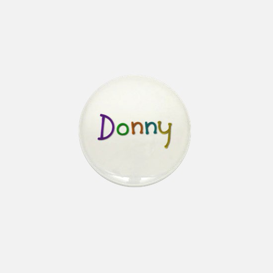 Donny Play Clay Mini Button