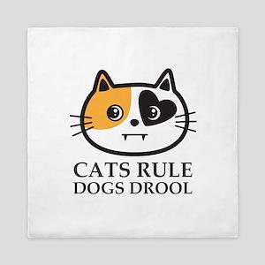 Cats Rule Queen Duvet