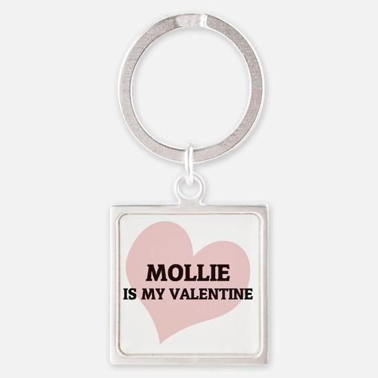 MOLLIE Square Keychain
