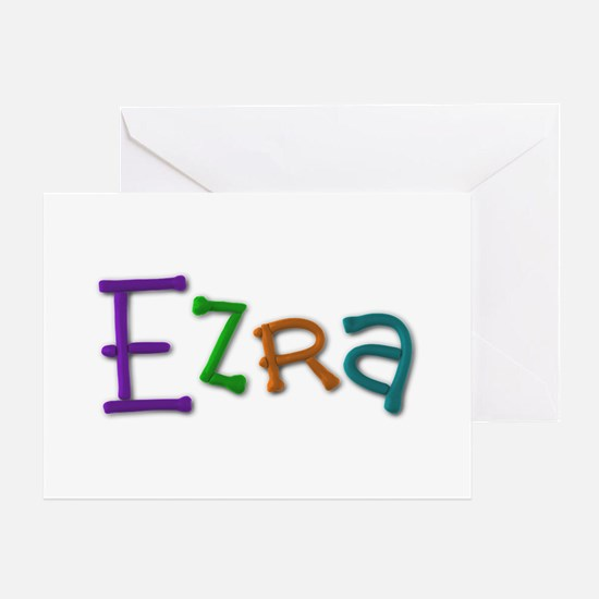 Ezra Play Clay Greeting Card