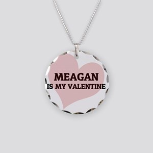 MEAGAN Necklace Circle Charm