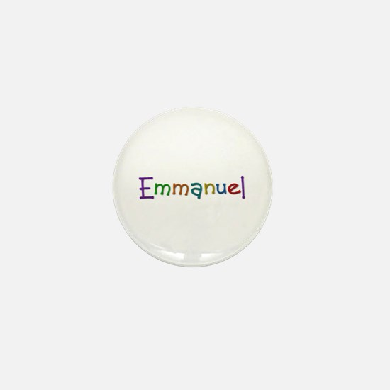 Emmanuel Play Clay Mini Button
