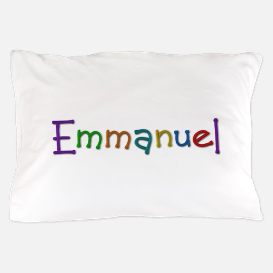 Emmanuel Play Clay Pillow Case