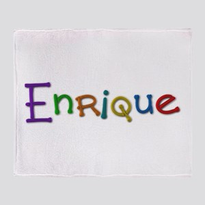 Enrique Play Clay Throw Blanket