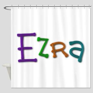 Ezra Play Clay Shower Curtain