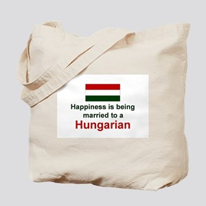 Happily Married To A Hungaria Tote Bag