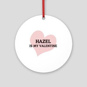 HAZEL Round Ornament