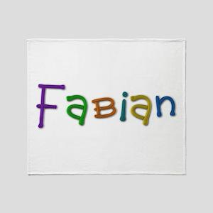 Fabian Play Clay Throw Blanket