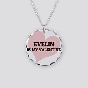 EVELIN Necklace Circle Charm