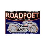 RoadPoet Biker Poetry Fridge Magnet