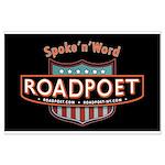 RoadPoet Biker Poetry Logo Poster