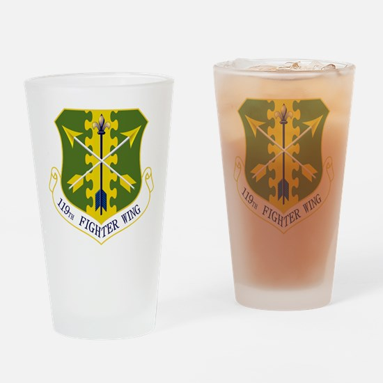 119th FW Drinking Glass