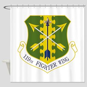 119th FW Shower Curtain