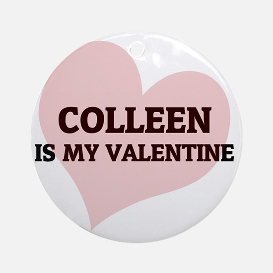 COLLEEN Round Ornament