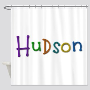 Hudson Play Clay Shower Curtain