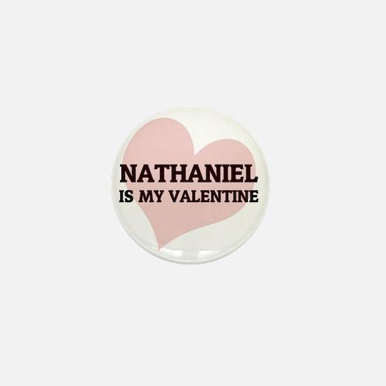NATHANIEL Mini Button