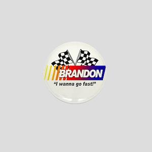 Racing - Brandon Mini Button